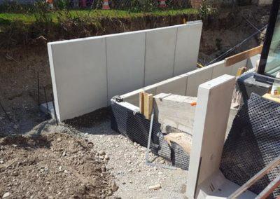 Gartenbau Baustelle