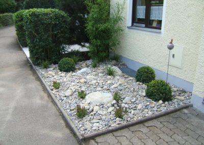 Stein Vorgarten